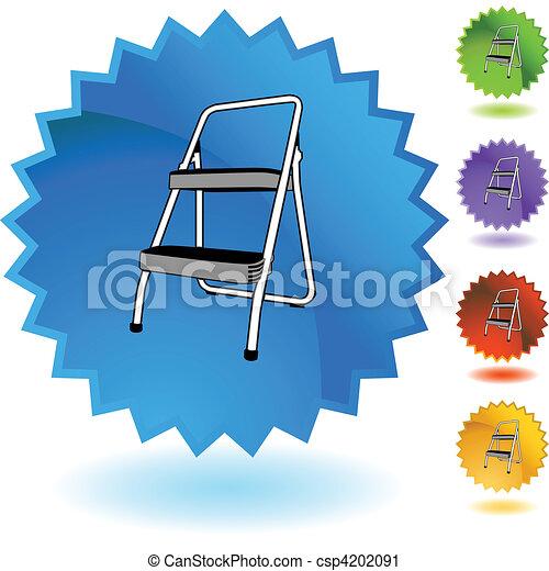 escada mão passo - csp4202091