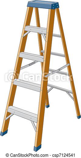 escada mão passo - csp7124541