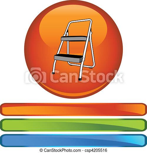 escada mão passo - csp4205516
