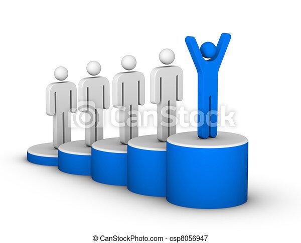 escada, sucesso - csp8056947