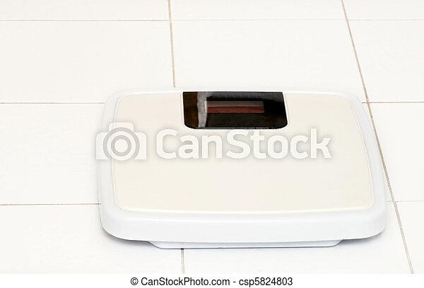 Escala de baño - csp5824803