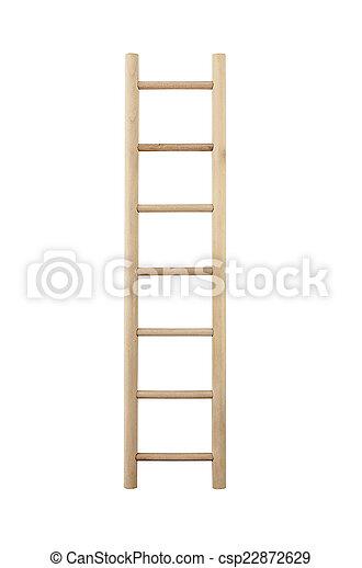 Escalera de madera - csp22872629