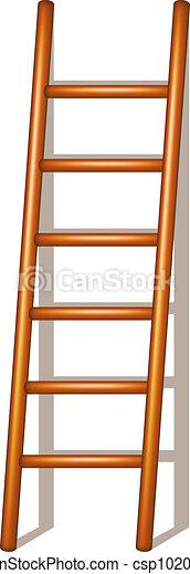 Escalera de madera - csp10207624