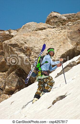 escalade, montagne - csp4257817