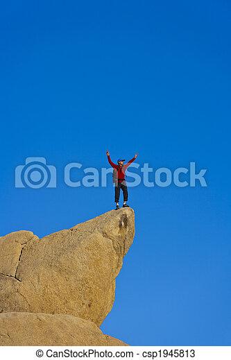 escalador, summit. - csp1945813