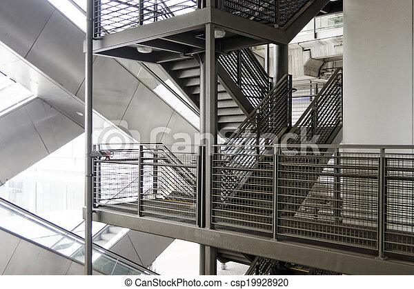Escalator And Stair   Csp19928920