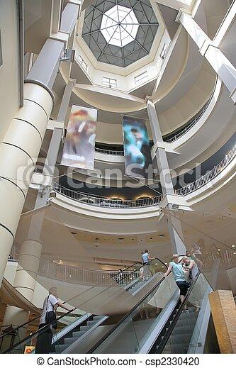 escalator in the store - csp2330420