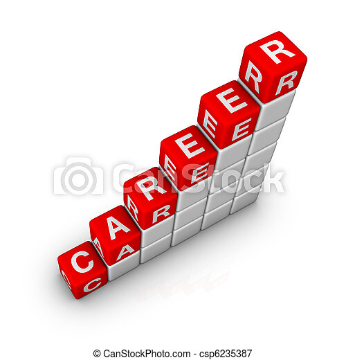 Escalera de carrera - csp6235387