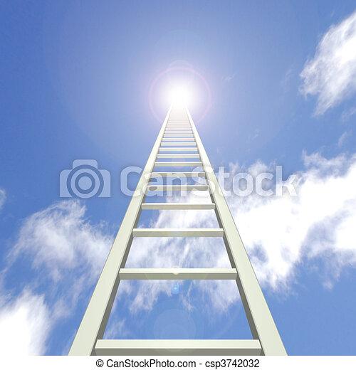 La escalera del cielo - csp3742032