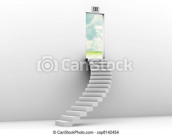 Escalera al cielo - csp8142454
