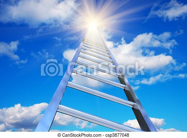 Escalera al cielo - csp3877048