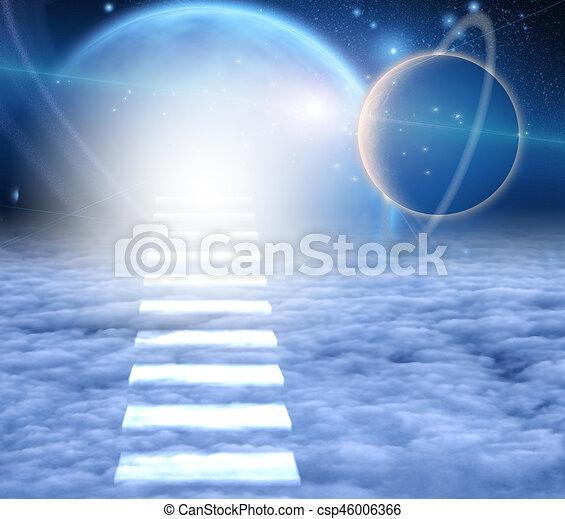 Escalera al cielo - csp46006366