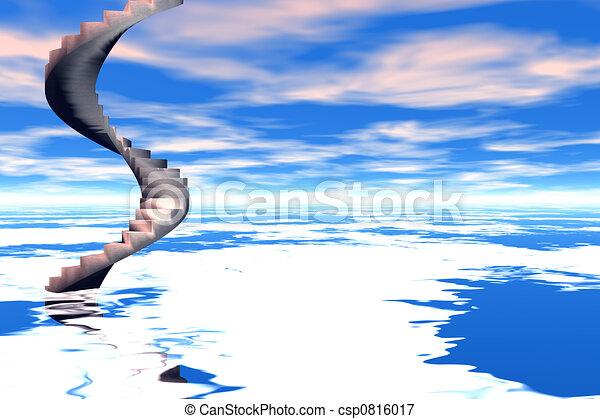 Escalera al cielo - csp0816017