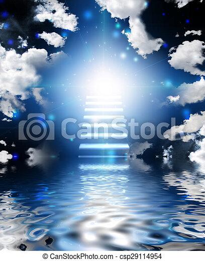 Escalera al cielo - csp29114954