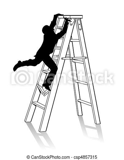 Ladder - csp4857315