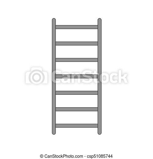 icono de escalera - csp51085744