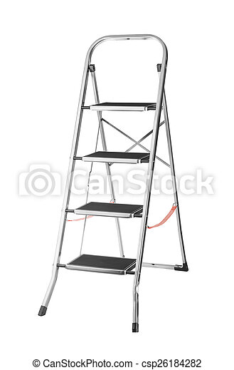 Escalera metálica - csp26184282