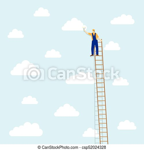 Escalera nubes colores pintor escalera colores nubes for Escaleras pintor precios