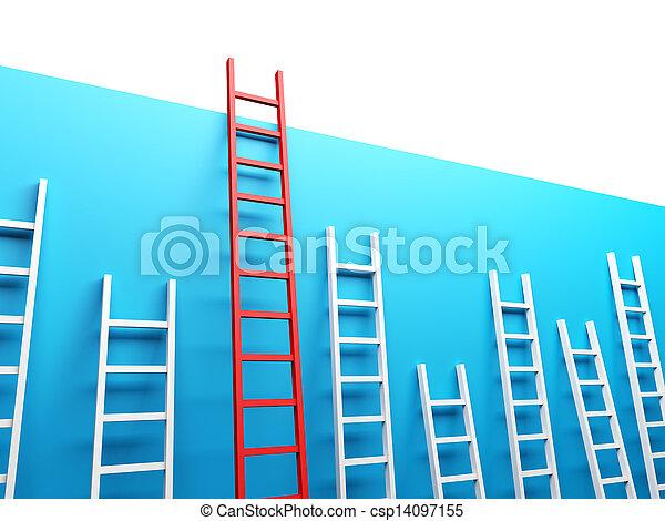 La escalera más alta - csp14097155