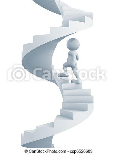 escalier - csp6526683