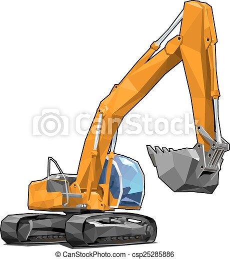 escavador - csp25285886
