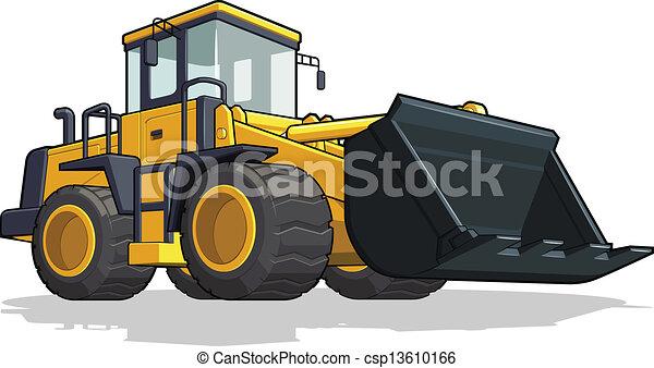 escavadora - csp13610166