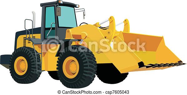 escavadora - csp7605043