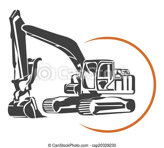 escavator - csp20329230