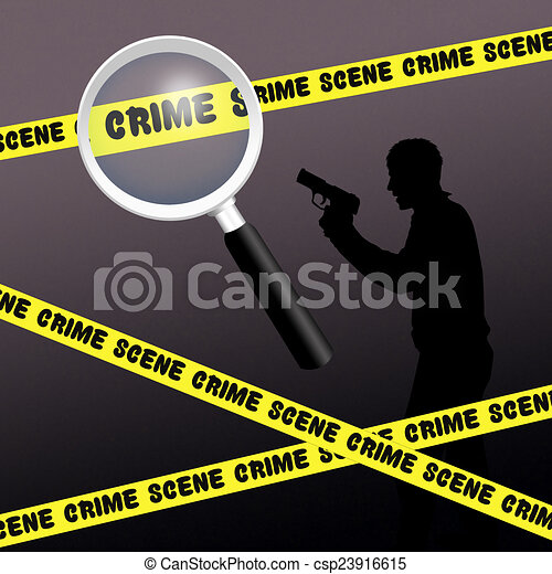 Escena del crimen - csp23916615
