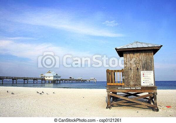 Escena de playa - csp0121261