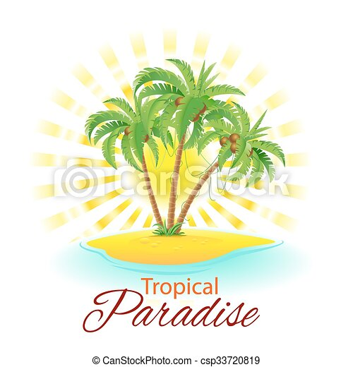 Escena tropical - csp33720819