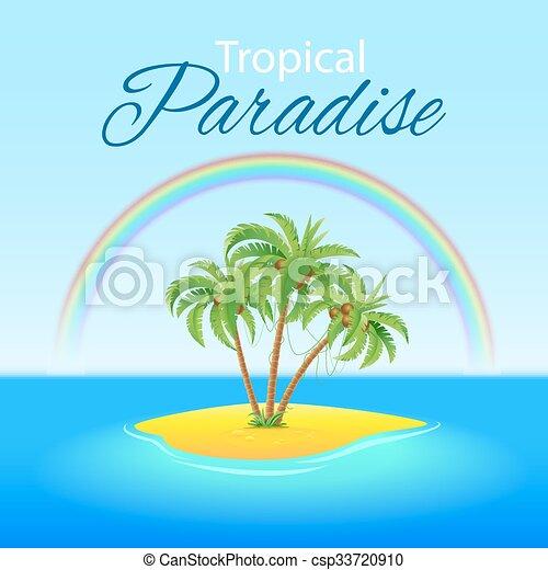 Escena tropical - csp33720910