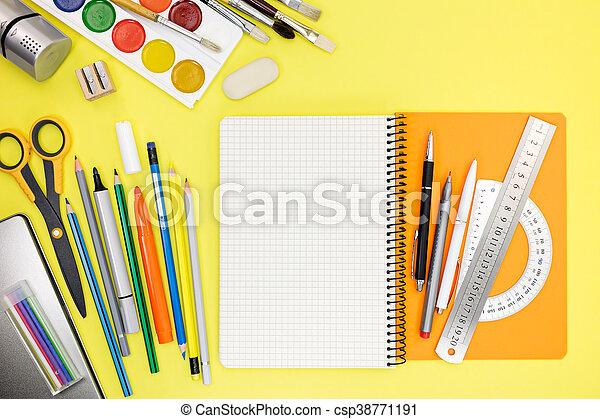 Escola Coloridos Estacionario Acessorios Escrita Ferramentas