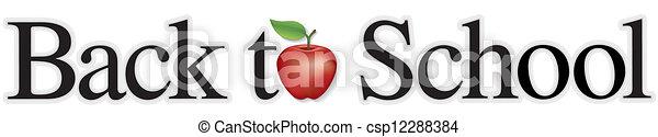 escola, costas - csp12288384