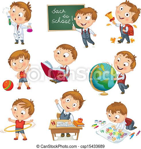 escola, costas - csp15433689
