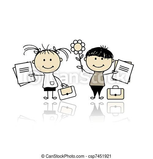 escola reserva, crianças - csp7451921
