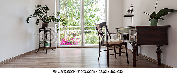 escritório lar, espaço - csp27395282