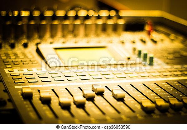 escrivaninha misturando - csp36053590