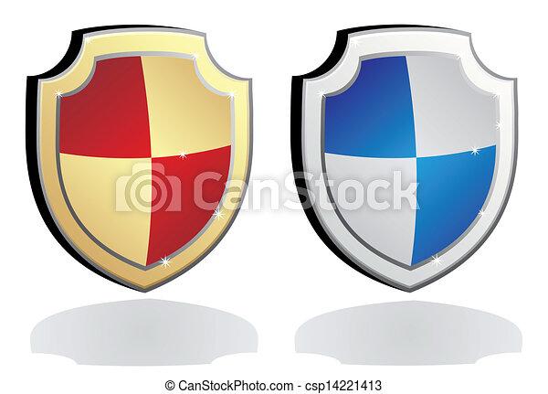 escudo, proteção - csp14221413