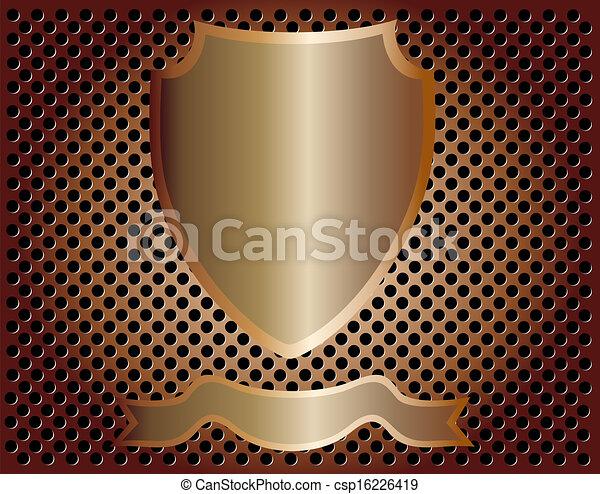 escudo, vazio - csp16226419