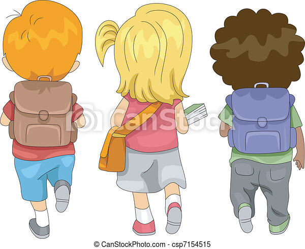 De vuelta a la escuela - csp7154515