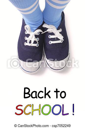 De vuelta a la escuela - csp7052249