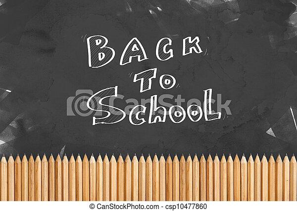 escuela, espalda - csp10477860