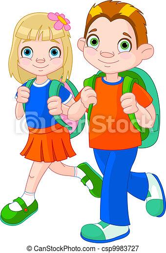 De vuelta a la escuela - csp9983727