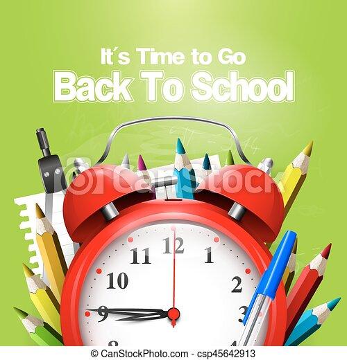 De vuelta a la escuela - csp45642913