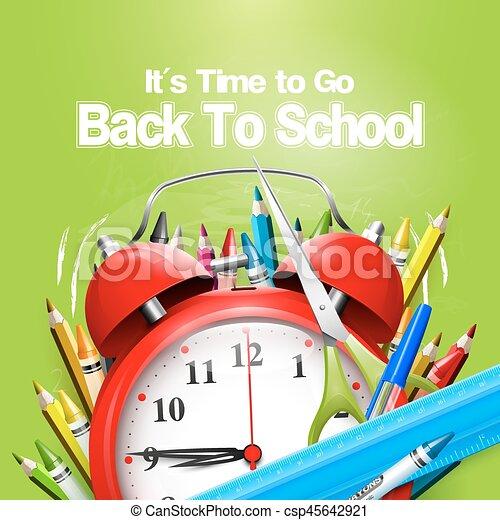 De vuelta a la escuela - csp45642921