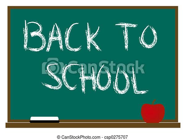 De vuelta a la escuela - csp0275707