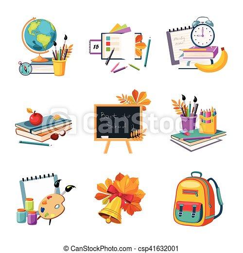 Escuela y educción relacionada con conjuntos de objetos - csp41632001
