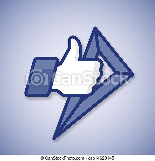 Escuela como/thumbs arriba símbolo icono con regla - csp14620145