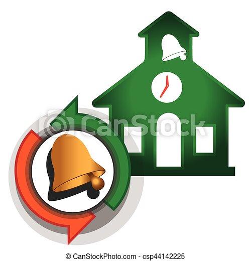 Hora de ir a la escuela - csp44142225